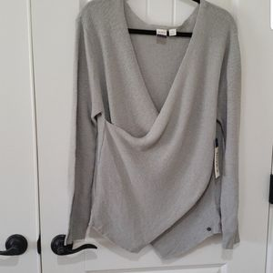 NWT Roxy wrap sweater